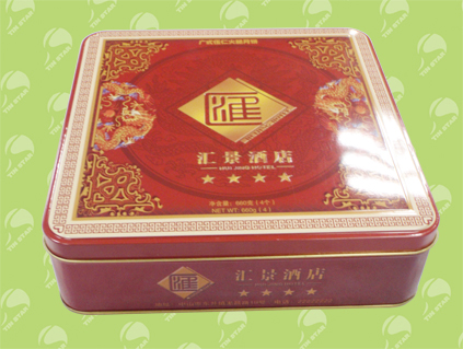tea tin box